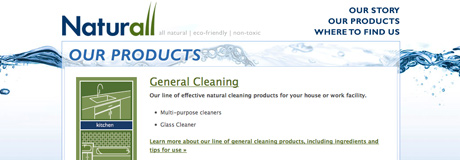 naturall web site